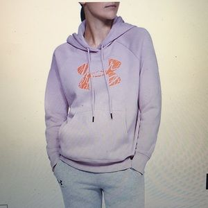 NWT Under Armour Rival Graphic Logo Hoodie